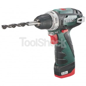 METABO TRAPANO-AVVITATORE A BATTERIA DA 10,8 VOLT POWERMAXX BS BASIC